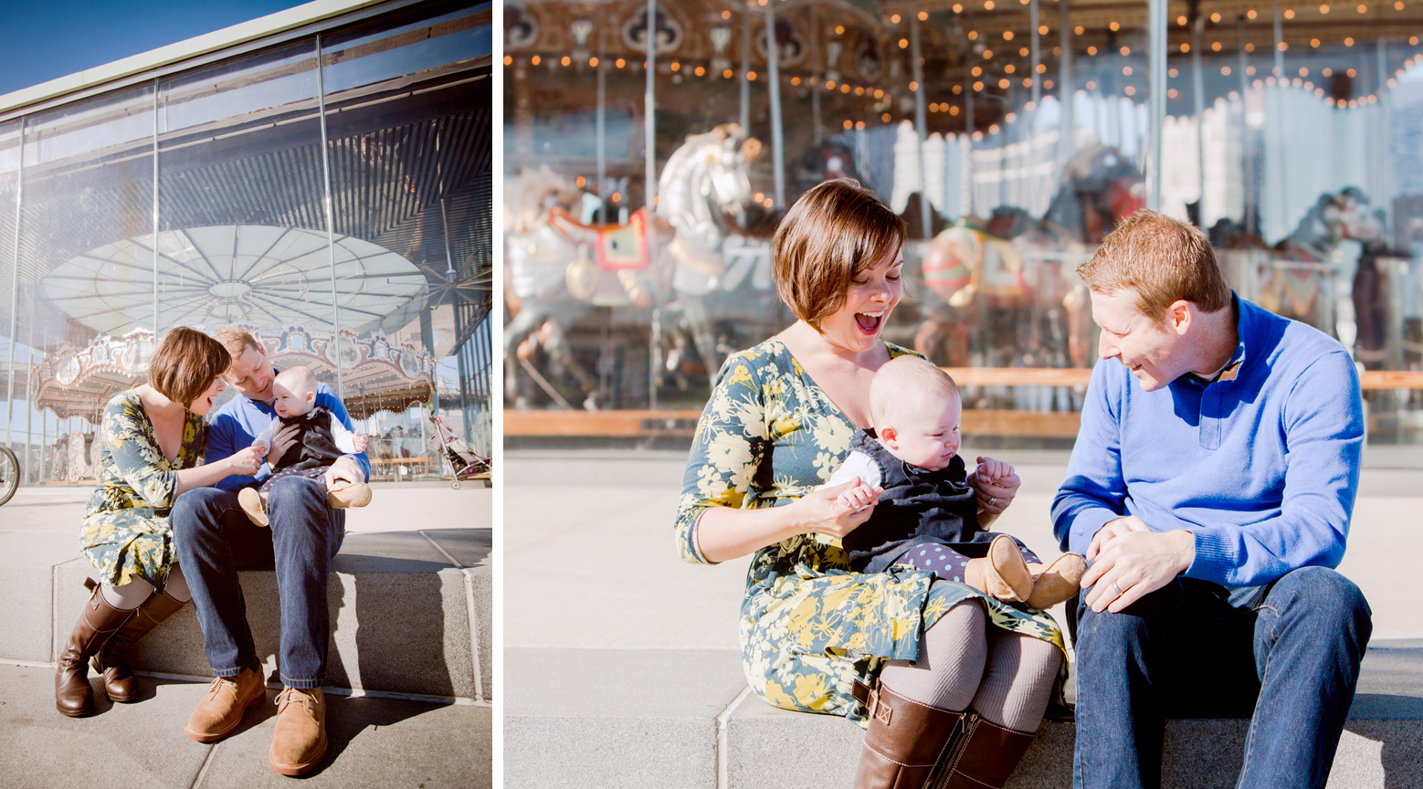 carousel laugh_portraits_II