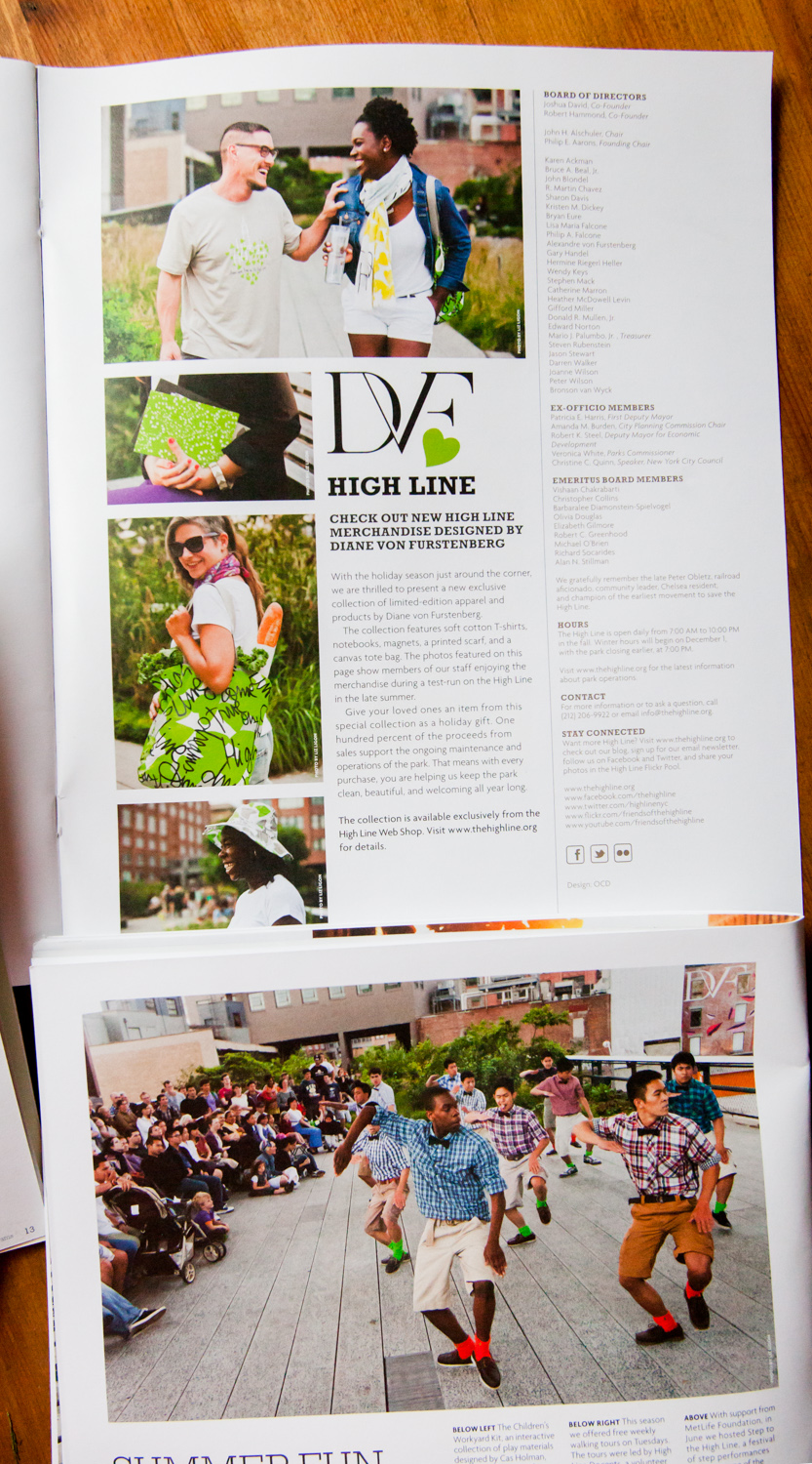 DVF Fashion & Summer Fun on the High Line